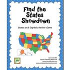 Find the States Showdown is a game for reviewing state names and locations, and it can also be used for reviewing state capitals and abbreviations....