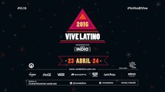 Segunda Llamada para el Vive Latino!!!