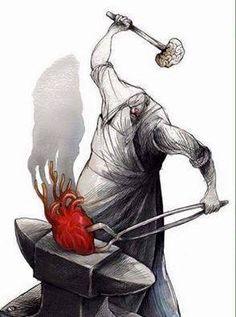 Meaningful Illustration by Boligan Corbo Heart Vs Brain, Anatomy Art, Heart Art, Oeuvre D'art, Pop Art, Art Drawings, Street Art, Graffiti, Character Design