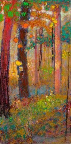 "15-13 | oil on canvas | 32 x 16"" | 2013 Rick Stevens"