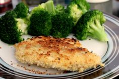 Panko Tilapia - weight watchers recipe for crunchy tilapia fillets