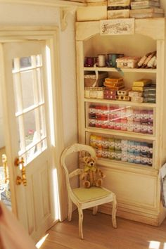 Miniature shop 'Atelier Rose Couture and Garden'
