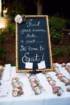 Photography: Janae Shields Photography - janaeshields.com  Read More: http://www.stylemepretty.com/california-weddings/2014/05/07/elegant-outdoor-wedding-at-nestldown/