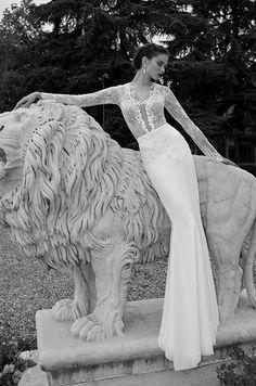 For a sexy & modern bride. Berta, Winter 2014