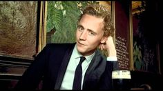 """I will be the first man to kiss you"" -Tom Hiddleston BEST 18 SECONDS EVER. AGSDFFF WATCH THIS NOW! PIN IT EVERYWHERE"