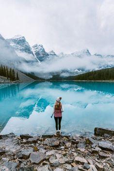 travel destinations canada Top 6 Must See Canadian Rockies Lakes Moraine Lake - Renee Roaming Parc National, Banff National Park, National Parks, Moraine Lake, Lake Moraine Canada, Joffre Lake, Best Places To Travel, Places To Visit, Canada Destinations