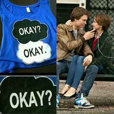 TAKING OFFERS The Fault In Our Stars Shirt A flowy, mid-rise shirt perfect for The Fault In Our Stars fan who simply can't resist Gus & Hazel. Never been worn! Does not have tags as it was delivered in plastic. Will ship asap! Tops