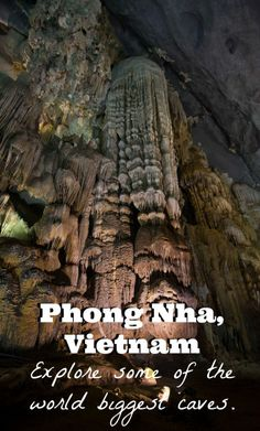 Phong Nha Ke Bang, a National Park in Vietnam, is home to some of the world biggers caves in the world. Let us guide you through them. Check out our article by clicking on the photo.
