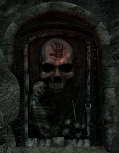 I was so excited when I found this door (before I knew about the Dark Brotherhood).