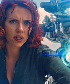 Natasha Romanoff/ Black Widow, from The Avengers, is one of the best spies in the world. She helped defend the people of Earth when Loki attacked and is stronger (physically and mentally) than most of the men in this movie. She shows that women don't have to be weak and submissive, like gender stereotypes suggest.