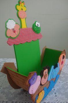 Pequeninos de Jesus: Sugestão de Culto com tema a Arca de Noé.