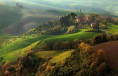 Toscana . Colline senesi