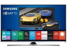 """Smart TV Gamer LED 40"""" Samsung UN40J5500 - Full HD Conversor Integrado 3 HDMI 2 USB Wi-Fi Bivolt - 40"""""""