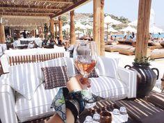 Hellenic Aesthetic's Picks: Seaside in Mykonos — Hellenic Aesthetic Mykonos Greece, Greece Travel, Travel Guides, Seaside, Beaches, Italy, Blog, Italia, Beach