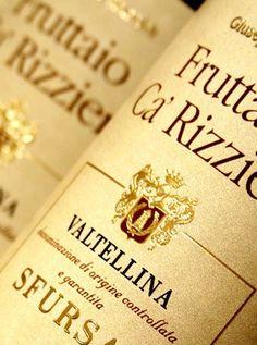 Fruttaio Ca' Rizzieri - Sfursat di Valtellina DOCG - Aldo Rainoldi #wine #lombardia #italy