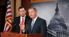 A faction of Republicans including Sen. Lindsey Graham is agitating for party leaders to unveil a policy manifesto in the midterm elections, detailing for voters what the GOP would attempt with a Senate majority its members are increasingly confident they'll achieve. Advocates of the strategy, which has triggered a closed-door debate in recent...