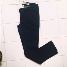 "Extreme Skinny Jeggings Charlotte Russe Extreme Skinny Jeans - dark blue denim. 1% spandex for that stretch. Not quite ""jeggings"". Look brand new. Great for tucking in boots. Size 2S (short). Charlotte Russe Jeans Skinny"