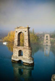 Old Alexandra Bridge - wonderful memories of childhood holidays with cousins :)