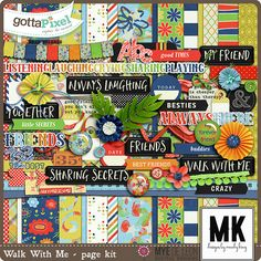 Designer Spotlight & Daily Download 6/9/16 - Gotta Pixel :: Walk With Me Page Kit by Mandy King