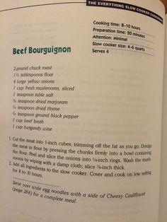 Crockpot Dump Recipes, Power Cooker Recipes, Crockpot Dishes, Beef Dishes, Meat Recipes, Food Dishes, Main Dishes, Cooking Recipes