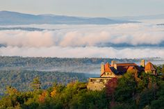 - Castle in the Clouds Marleboro, NEW HAMPSHIRE.  I wish I could have spent half a day here just sitting and taking in the view,