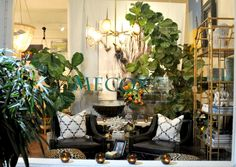 #PalmBeach #Mecox window display #interiordesign #MecoxGardens #furniture #shopping #home #decor #design #room #designidea #vintage #antiques #garden