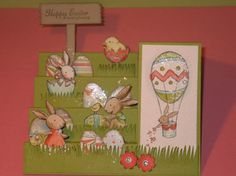 Stampin up Easter Card.  Everybunny stamp set