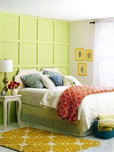 красивые яркие спальни