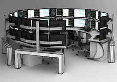 Multi Monitor / Rail System