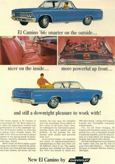 1966 El CAMINO ONE DAY I WILL HAVE MY DREAM CAR