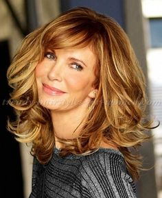 nice long hairstyles over 50 - Jaclyn Smith long layered haircut
