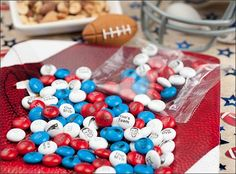 Using personalized my M&M's for your Superbowl party (and a coupon code)