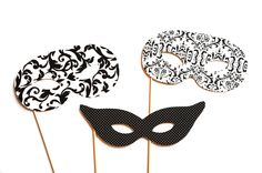 Could buy some cheap masks for decoration and for people who come without a mask to carry around.. $12.00 for 3 here but can get better deals probably if we message them, via Etsy.