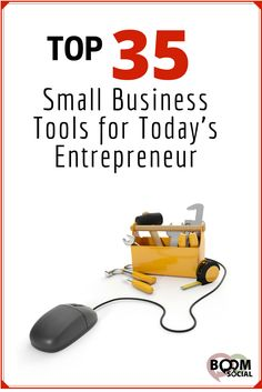 Small business owners wear many hats – sales, marketing, hiring, website design, social media marketing, research and development, etc. It can be tough to juggle it all and I am a firm believer that the work is in the tools.  So what tools will make a small business owner's life easier?  Below you will find my personal reviews on 35 small business tools for today's entrepreneur.