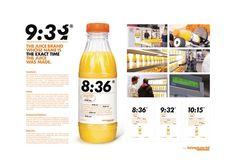 2015 Direct Gold: The Freshest Orange Juice Brand, Intermarché and Marcel, Paris