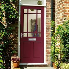 Present a stylish welcome to guests with the Bosworth Glazed hardwood external front door. Glazed External Doors, External Front Doors, Victorian Front Doors, Mdf Doors, Front Range, Construction Materials, Back Doors, Joinery, Wood Paneling