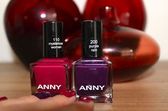 White Orchid: ANNY Nail Polish: Mysterious Woman & Purple Rain