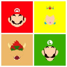 Super Mario Bros Vector by Sebastian Bedoya Osorio, via Behance