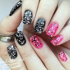 Fancy Nails, Pretty Nails, Geometric Nail Art, Best Nail Art Designs, Cool Nail Art, Nails Design, Nail Ideas, Nail Polish, Beauty