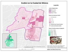 #ecobici #cdmx #ciclista #map #arcgis #esri #geo #bici ecobici  cdmx map ciclista