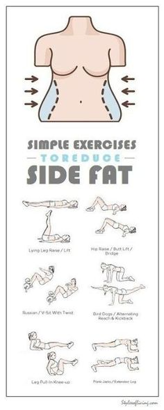 8 Effective Exercises To Reduce Side Fat of Waist by Sharon Brown CK1Yh