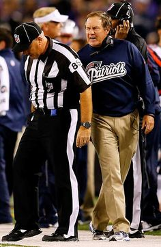 7f805da6587 Will Belichick be fined for grabbing an NFL ref after Sunday night s loss  to the Ravens