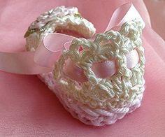 Девочка вязание крючком босоножки детские девочке подарок на TippyToesBabyDesigns