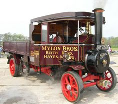 Steam Traction Foden Steam Engine ...  =====>Information=====> https://de.pinterest.com/gordoncadwe9349/steam-waggons/