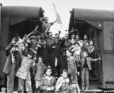 Jewish Children Leave Buchenwald DP Camp