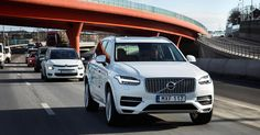A fleet of self-driving Volvo cars which will be used in London in 2018 will be unmarked so that other road users don't feel encouraged to bully them via aggressive driving. Volvo Xc90, Best Suv, Volvo Cars, Cars Uk, Combustion Engine, Premium Cars, Joint Venture, Digital Trends, Self Driving