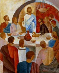 Vasiliy Myazin - The Last Supper, 1994