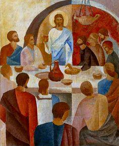 Vasiliy Myazin - The Last Supper, 1994