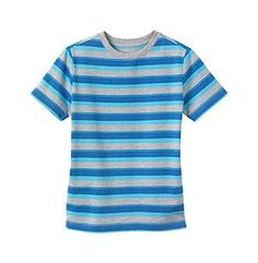 Ruff Hewn Boys' 8-20 Short Sleeve Striped Tee
