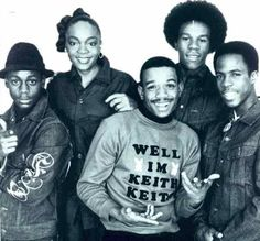 Funky 4 + 1 (also known as Funky Four Plus One), American hip-hop/rap group. They were notable for having a female MC, and were the 1st rap group to perform live on a national television broadcast and the 1st to receive a recording deal. The group's  most significant hit was the 9-minute That's the Joint, which is one of VH1's 100 Greatest Songs of Hip Hop. Their other hits include the almost-16-minute Rappin' and Rockin' The House, and Jazzy Jeff's recording of King Heroin.